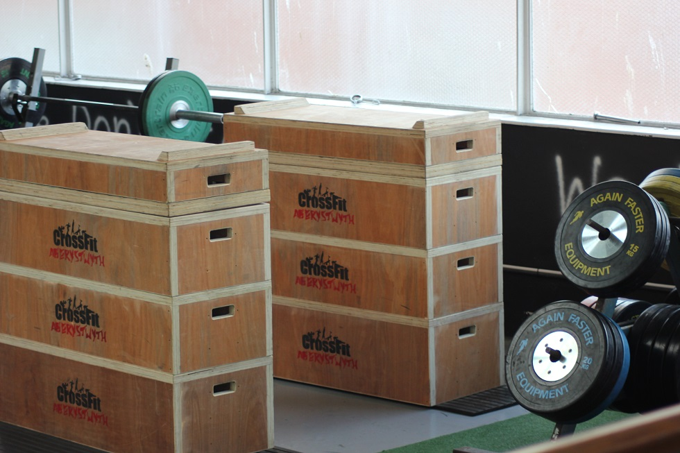 boxes and weights